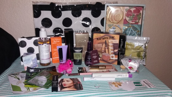 +++ HUGE MUST HAVE' Beauty Lot!!! Over 350$+ Sephora, FFF, Ulta, Ipsy, Birchbox& MORE!!+++