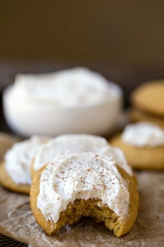 ~☆(New) Frosted Pumpkin Cookie Recipe ☆~