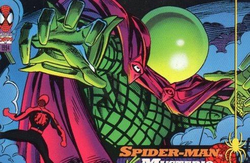 1994 Spider-Man: Collectible/Trade Card: Spider-Man vs Mysterio