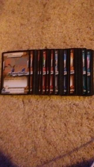 DBZ cell saga tcg cards