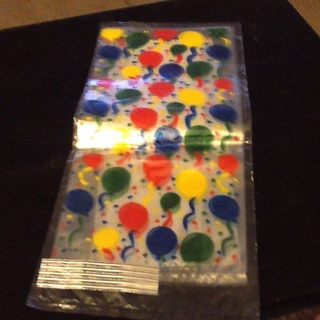 Treat/Party favor bags. 5 count