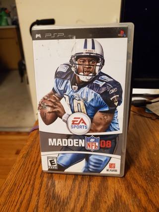 Madden 08 PSP