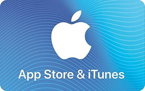 25$ App Store & iTunes Gift Cards