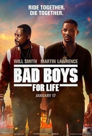 Bad Boys for Life digital movie code from 4k blu ray disc, MA Vudu