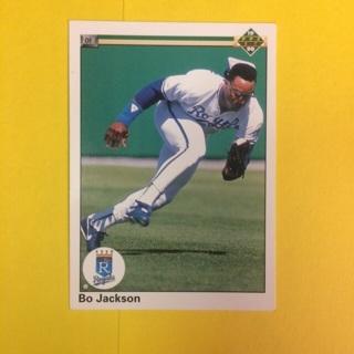 1990 Upper Deck #105 OF Bo Jackson - Royals