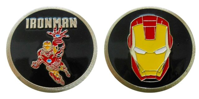 Ironman  Collectible Challenge Coin