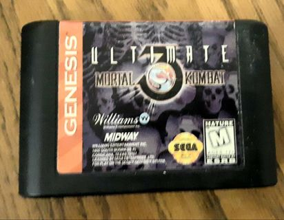 Sega Genesis Ultimate Mortal Kombat