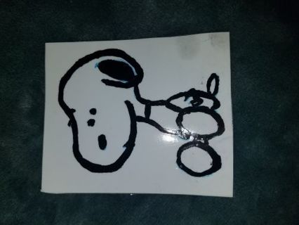 ☆●☆ 3 snoopy stickers ☆●☆
