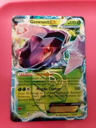 Genesect EX Ultra Rare Pokemon Card Mint