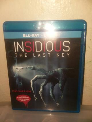 NEW INSIDIOUS: The Last Key BLU-RAY + DIGITAL