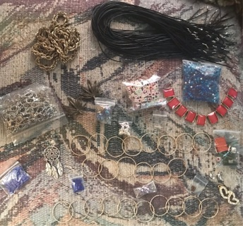 Growing Lot of Jewelry Supplies