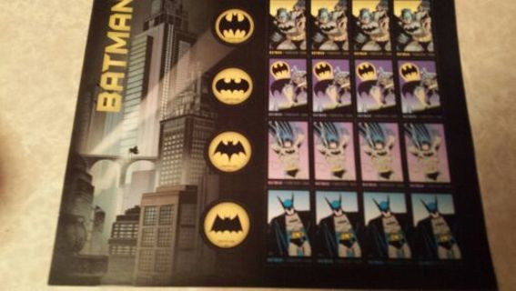 BATMAN~FOREVER STAMPS! SPECIAL EDITION!