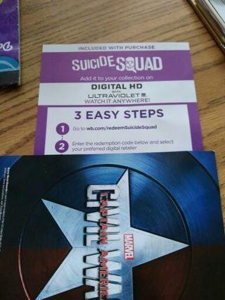 Suicide squad digital copy