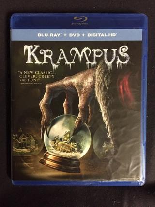 KRAMPUS BLU-RAY AND DVD