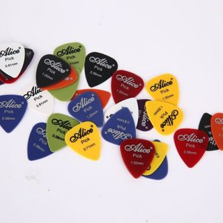 40PCS Acoustic Electric Guitar Picks Plectrum Various 6 Thickness w/ Pick Box