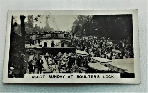 1932 Wills Homeland Events Card