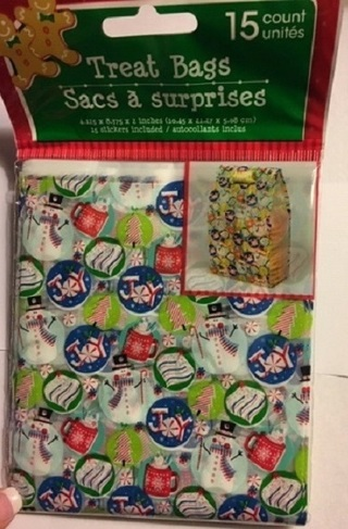 ❄(New) 15 Ct. Christmas Cello Treat Bags ❄