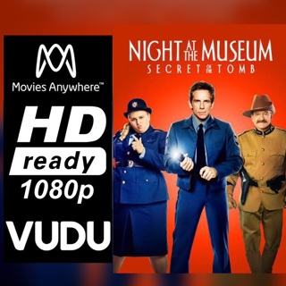 NIGHT AT THE MUSEUM: SECRET OF THE TOMB HD MOVIES ANYWHERE OR VUDU CODE ONLY