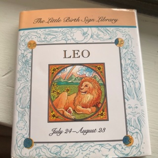 The Little Birth Sign Library LEO