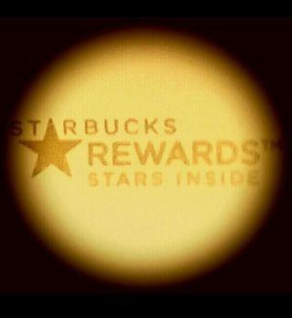 Starbucks Rewards Stars Code
