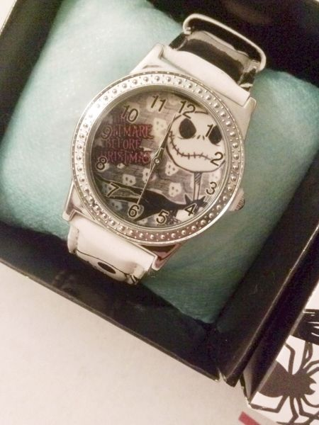 Free 1 Brand New Nightmare Before Christmas Wrist Watch Jack Skellington Gift Box Free Shipping Watches Listia Com Auctions For Free Stuff