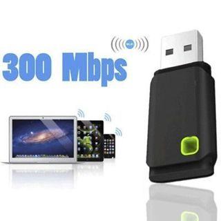 Wireless Smart TV WiFi Mini USB Adapter 300Mbps for Network PC Laptop