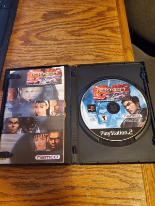 Tekken Tag Tournament PS2 disc and booklet only