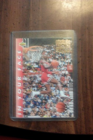 Upper Deck Michael Jordan Card