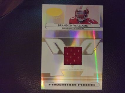 Progressive lot will add cards over 21 days brandon Williams jersey cd