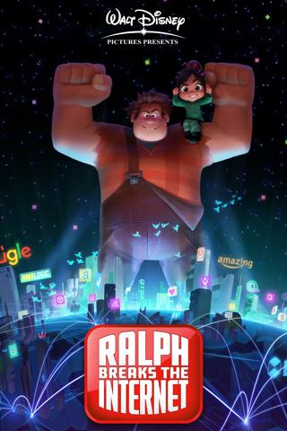 """Ralph Breaks the Internet"" HDX - Vudu/movieanywhere Digital Movie Code"