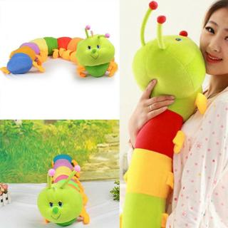 Colorful Inchworm Plush Toy Soft Caterpillar Cushions Child Baby Toy Doll Precio