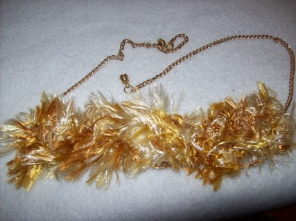 Upcycled washer necklace