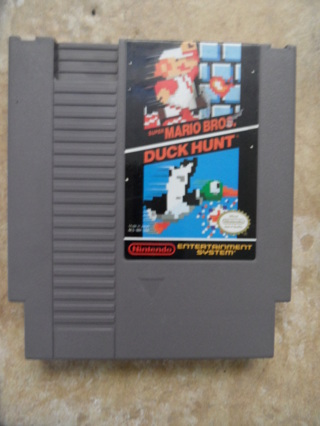 Classic Nintendo Nes Games x 3 Super Mario Brothers 1 & 3, Dr mario
