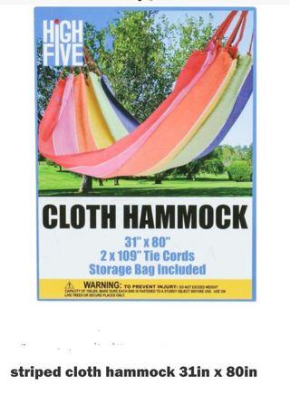 Brand new cloth Hammock Free Shipping