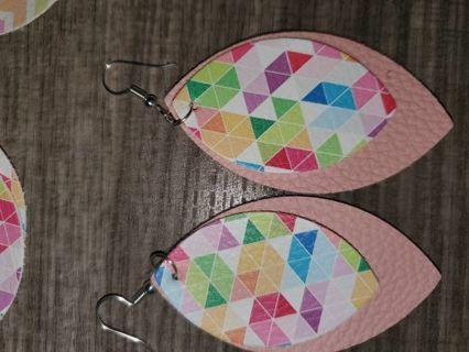 One pair if earrings