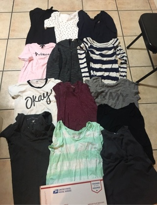 Womens/Teens Clothing Lot Size XS-XL (Read Description) THE MORE YOU BID THE MORE YOU GET!
