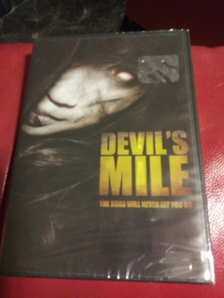 Devil's mile DVD Factory sealed