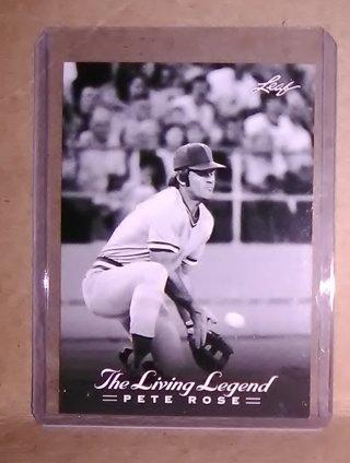 Pete Rose - The Living Legend - 2012 Leaf Trading card