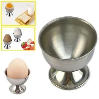 Cafes Kitchen Tool New Cups Holder Stainless Steel Boiled Egg Egg Cup Soft