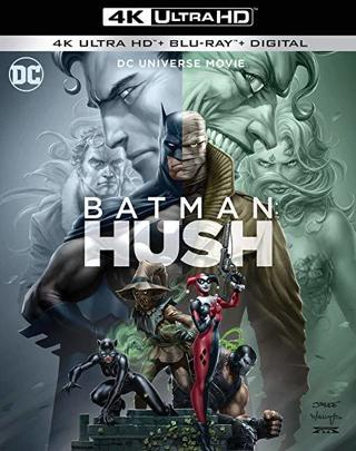 Batman Hush (2019) 4K Ultra HD Digital Copy Code