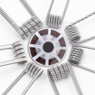 8 in1 Demon Killer Wire Prebuilt Pre Built Coils RDA RTA Coil Spirals Fused