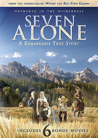 2016 Seven Alone:Plus 6 Bonus Movies 2 DVD Set-New & Sealed-True Story