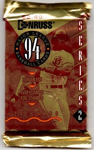 (2) Unopened Packs of Sport Cards--Please read description