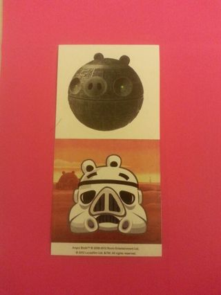 Angry Birds Star Wars sticker