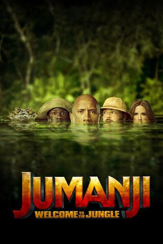 Jumanji: Welcome To The Jungle Vudu HDX or HD iTunes Code Pre-Order