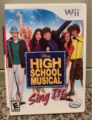 High School Musical: Sing It! (Nintendo Wii, 2006) Tested.