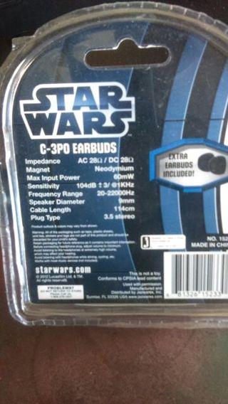 Star wars C-3PO EarBuds