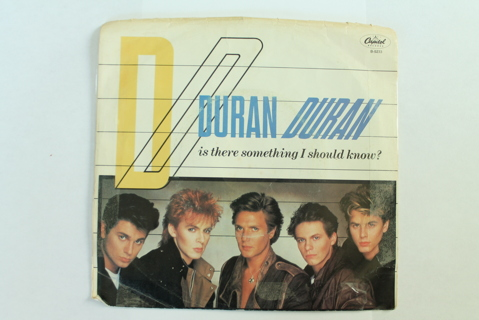 45 RPM w/ Picture Sleeve Duran Duran