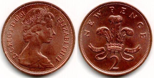 British 2p coin
