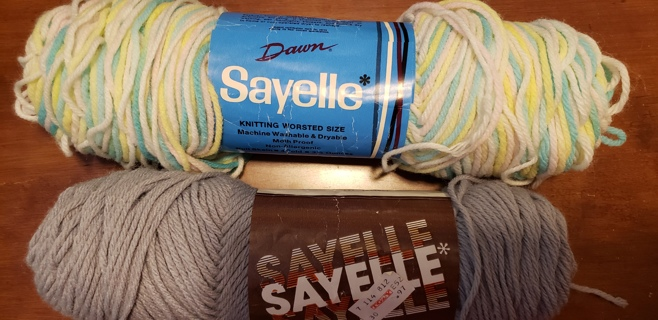 NEW - Sayelle Yarn - 2 skeins